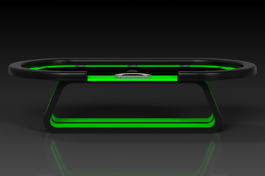 Luge Neon Green Poker