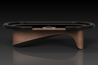 Ellipse Walnut Poker