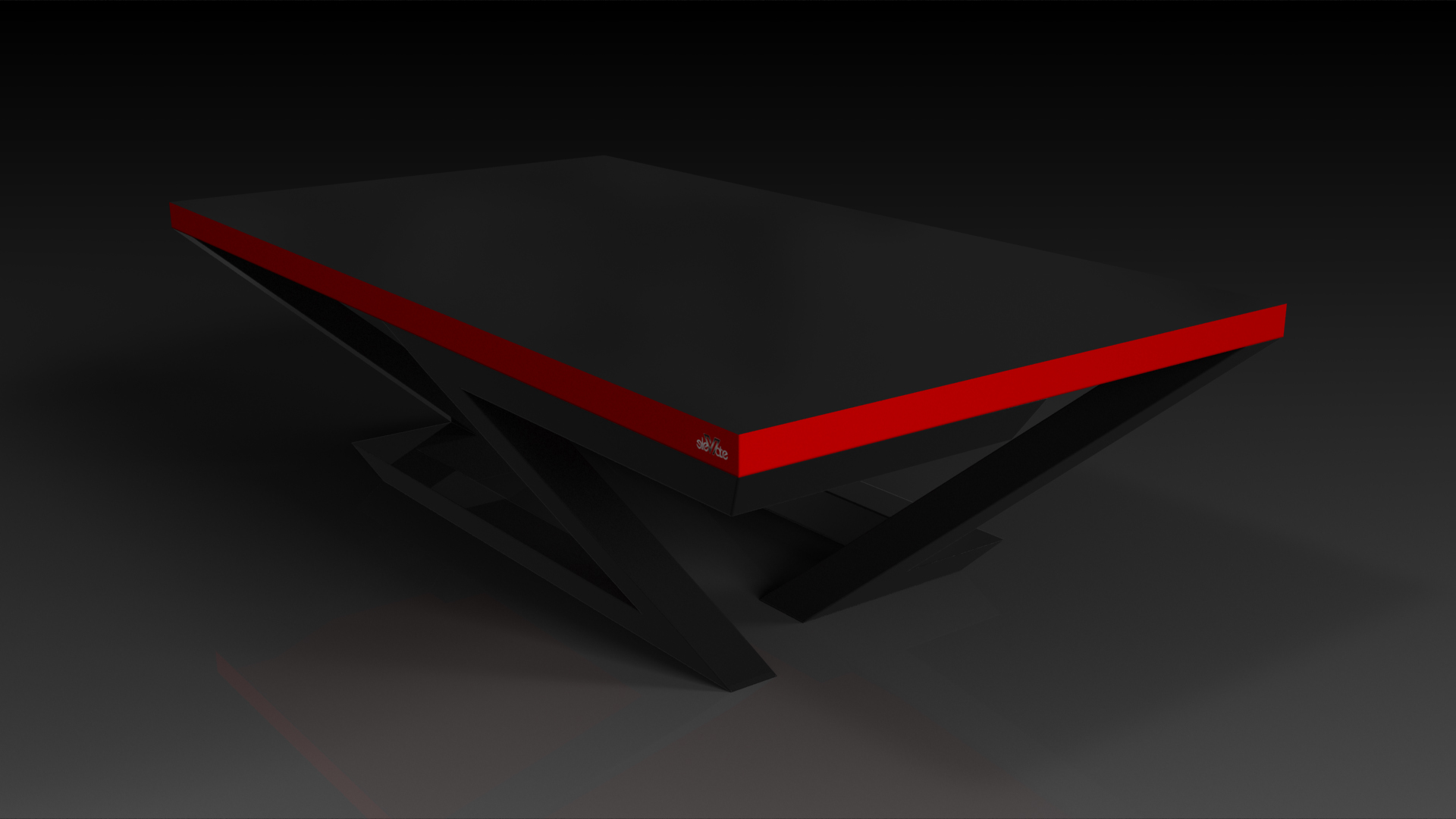 Trinity Black with Red Dining