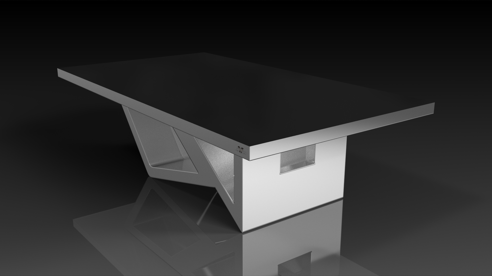 Rumba Brushed Aluminum Dining