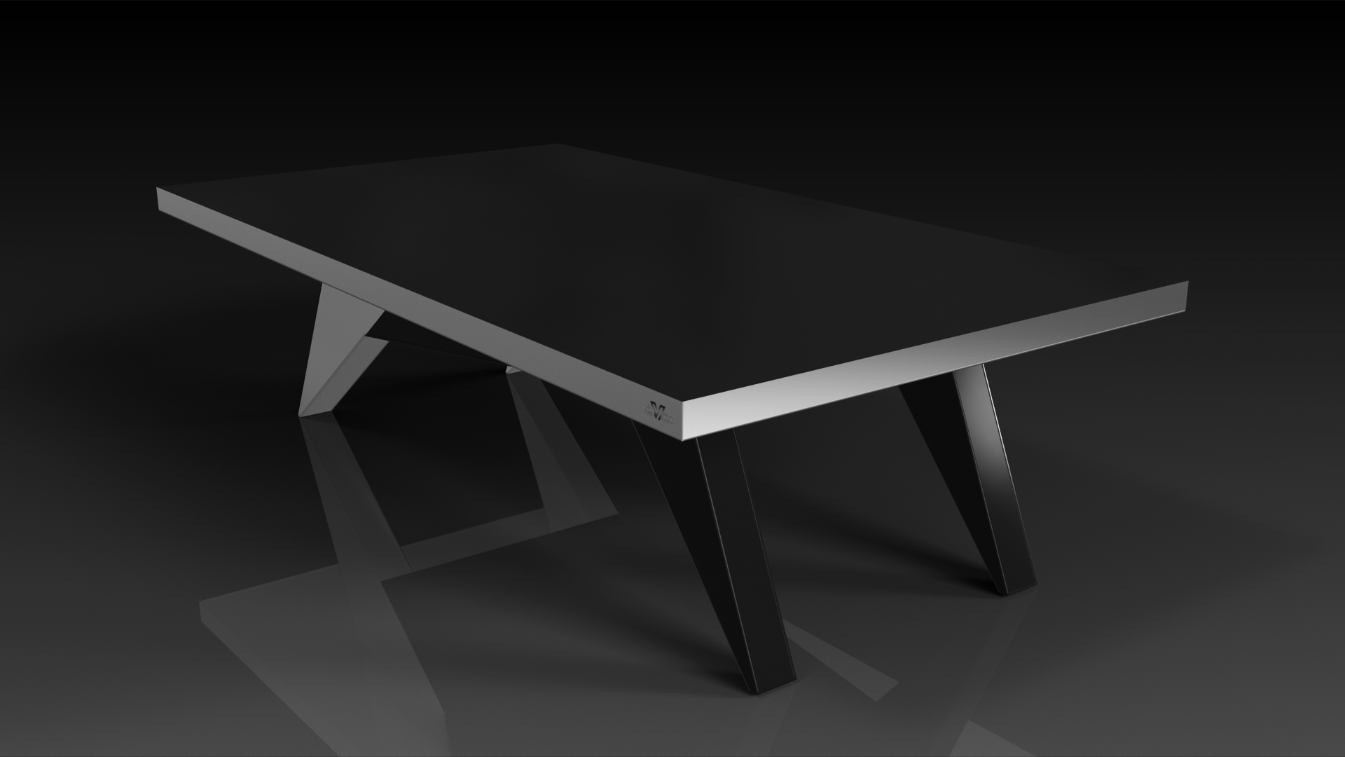 Mantis Brushed Aluminum Dining
