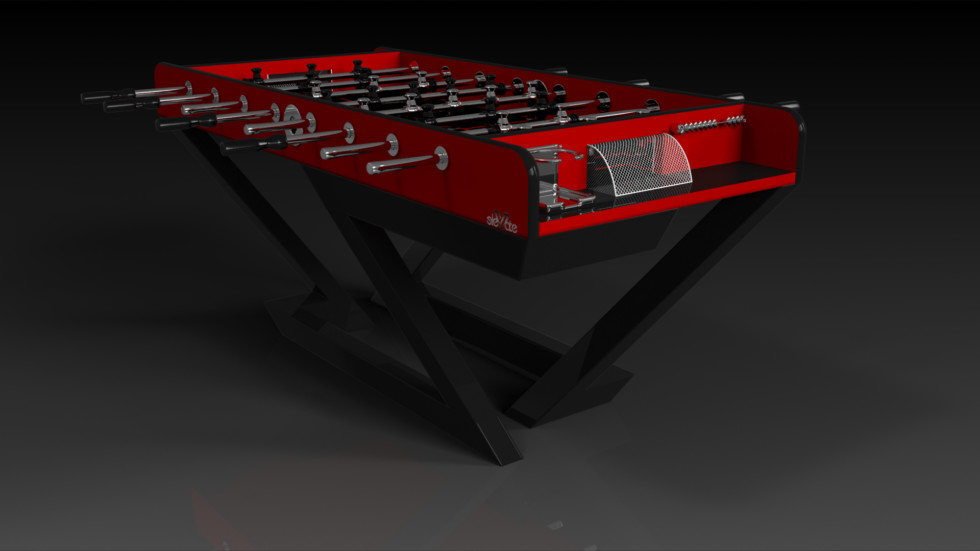 Trinity Black and Red Foosball