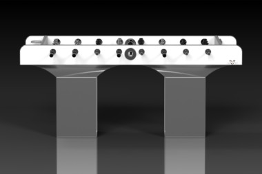 Trestle Brushed Aluminum Foosball