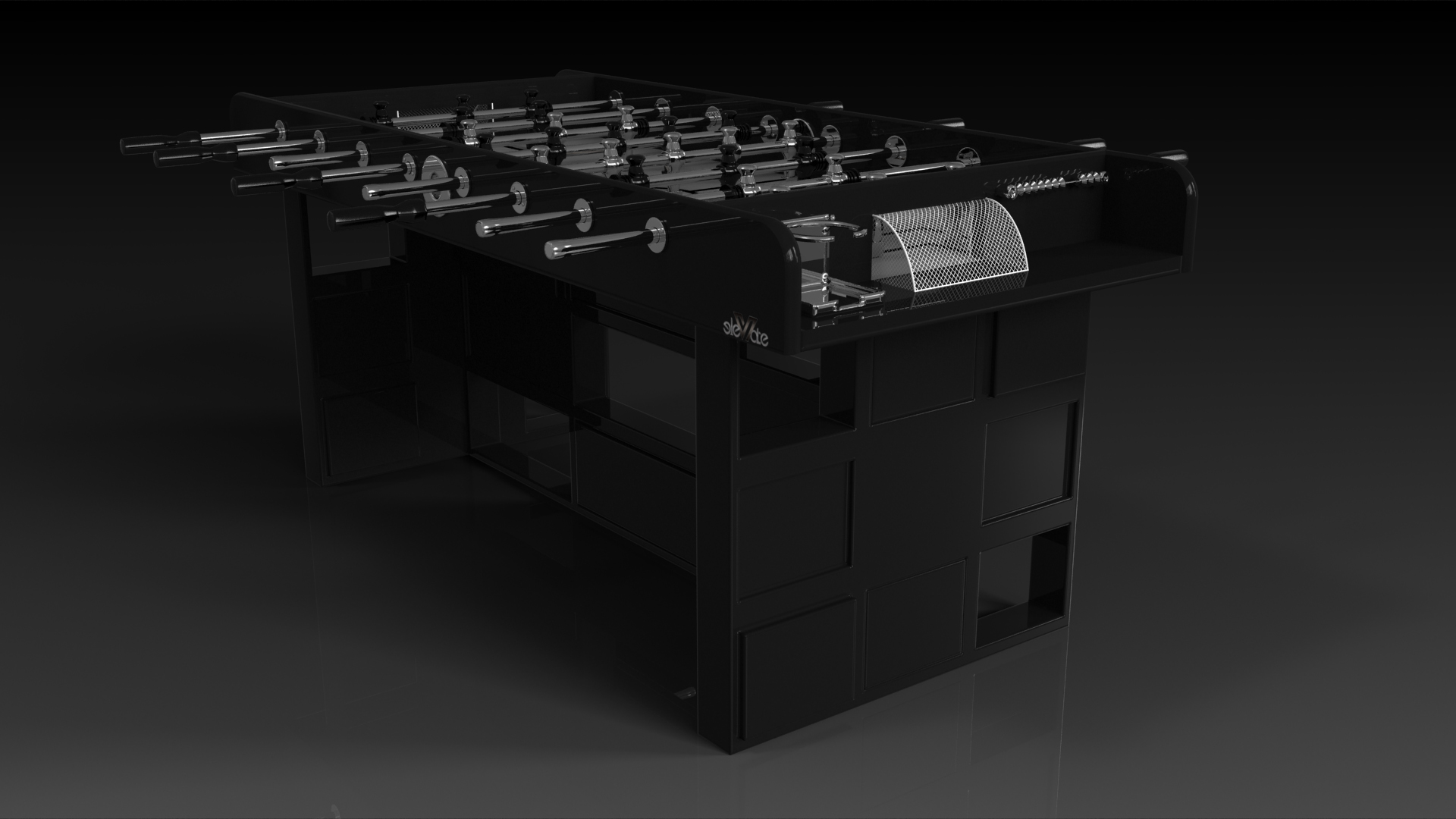 Quota Black Foosball