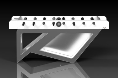 Rumba Brushed Aluminum Foosball