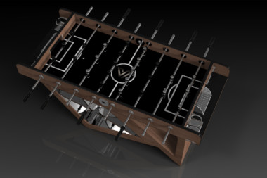 Rumba Walnut Foosball