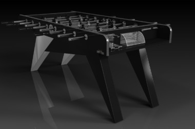 Mantis Brushed Aluminum Foosball