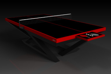 Trinity Black and Red Table Tennis