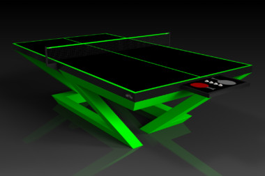 Trinity Neon Green Table Tennis
