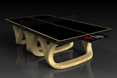 Elevate customs modern design draco Ping Pong Table tennis bamboo 2