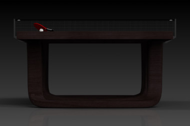 Elevate customs modern design draco Ping Pong Table tennis espresso 3