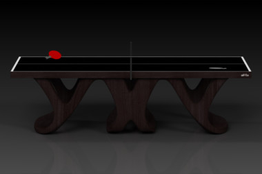 Elevate customs modern design draco Ping Pong Table tennis espresso 2