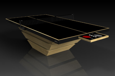 Elevate customs modern design louve Ping Pong Table tennis bamboo 2