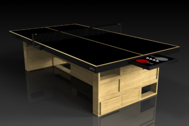 Elevate Customs modern design quota Ping Pong Table tennis bamboo 1