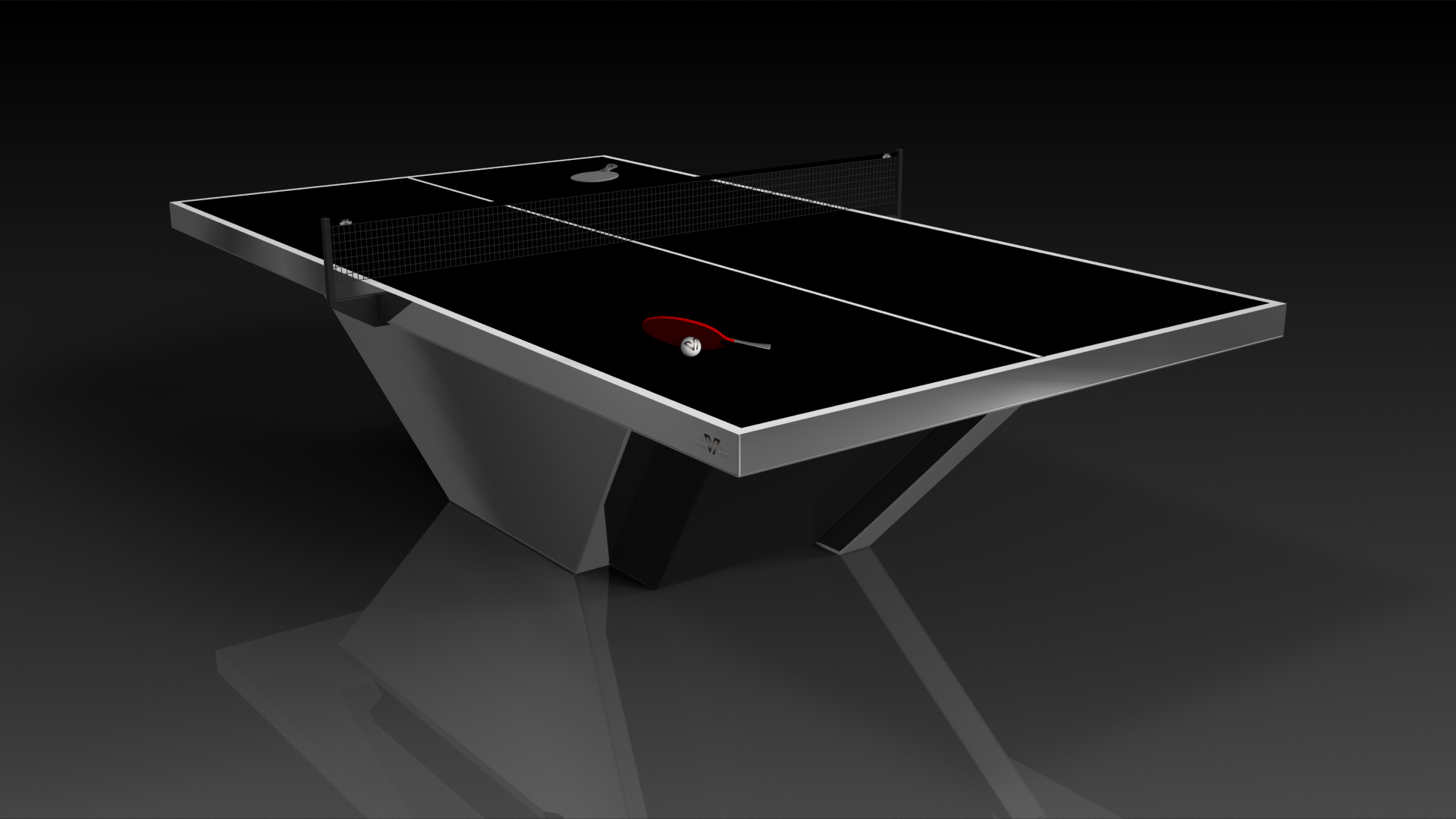 Vogue Chrome Table Tennis