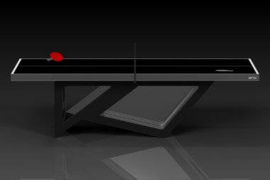 Elevate Customs modern design rumba Ping Pong Table tennis black 2