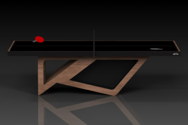 Elevate Customs modern design rumba Ping Pong Table tennis walnut 3