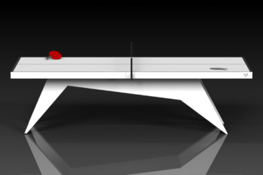 Elevate Customs Modern design Mantis Ping Pong Table tennis white 2