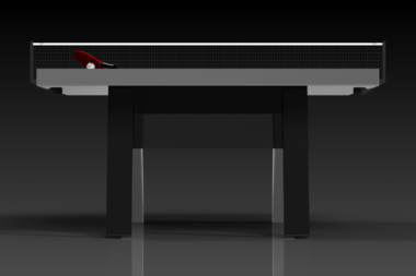 Elevate Customs Modern design Mantis Ping Pong Table tennis black 2