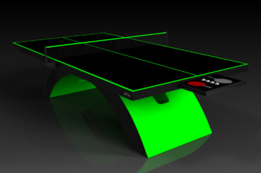 Zenith Neon Green Table Tennis