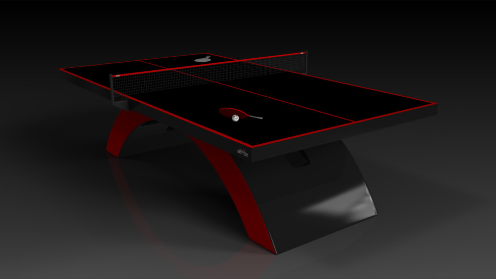 Zenith Black and Red Table Tennis