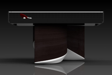 Elevate customs modern design ellipse Ping Pong Table tennis espresso 3