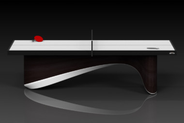 Elevate customs modern design ellipse Ping Pong Table tennis espresso 2