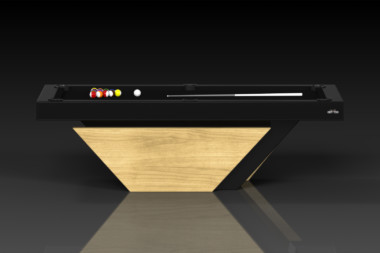 Elevate Customs modern design vogue pool table bamboo 2