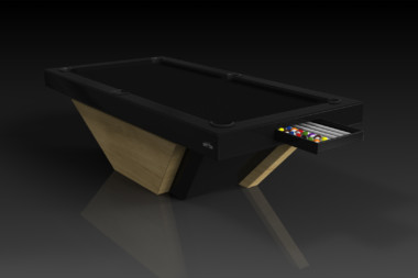 Elevate Customs modern design vogue pool table bamboo 1