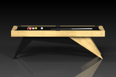 Elevate Customs Modern design Mantis pool table bamboo 2