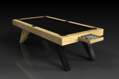 Elevate Customs Modern design Mantis pool table bamboo 1