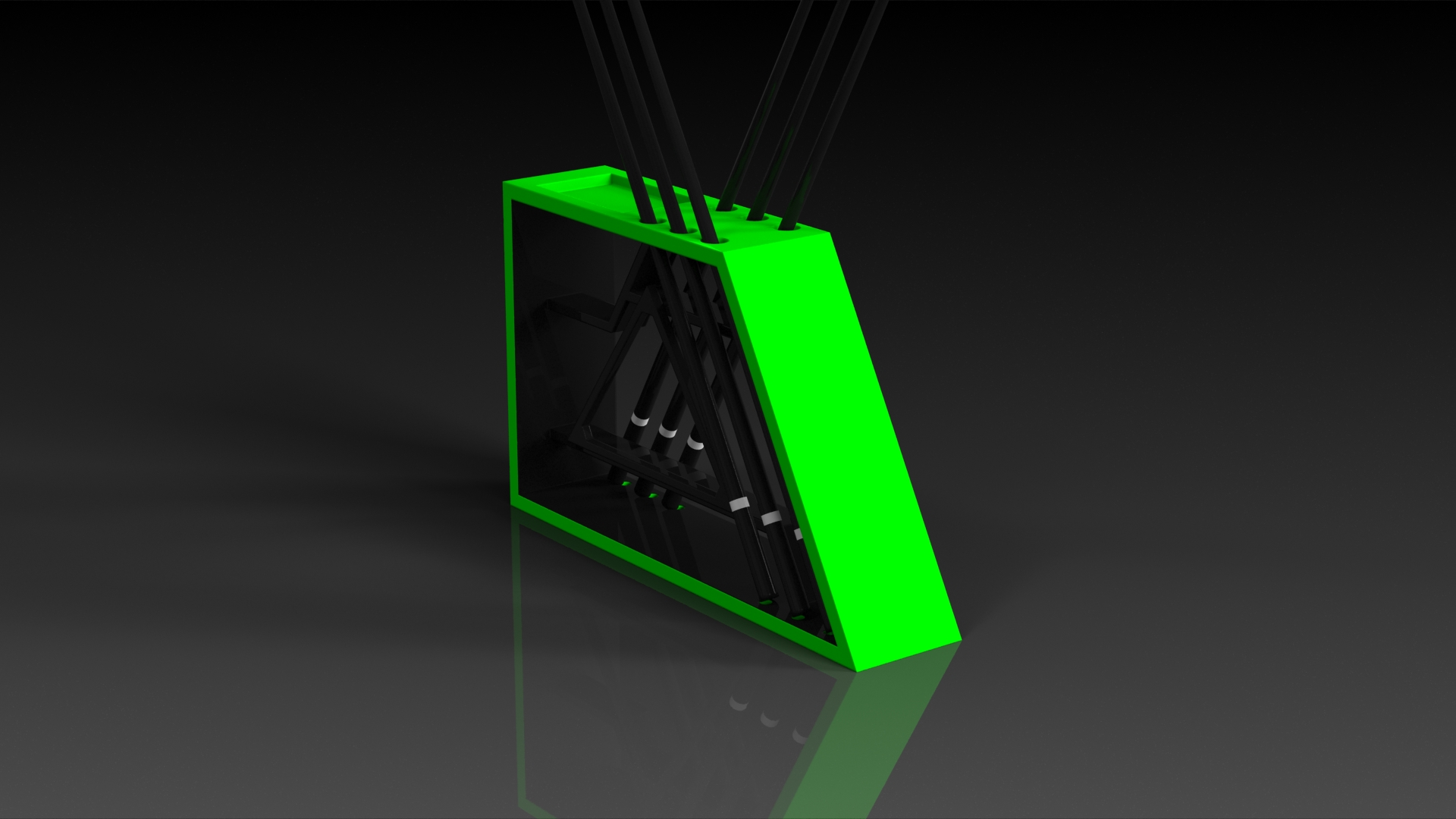 PS3 Neon Green