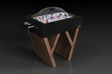 Maze Dome Hockey Walnut