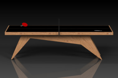 Elevate Customs Modern design Mantis Ping Pong Table tennis teak 2