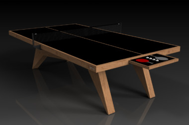 Elevate Customs Modern design Mantis Ping Pong Table tennis teak 1