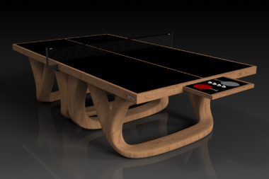 Elevate customs modern design draco Ping Pong Table tennis teak 1
