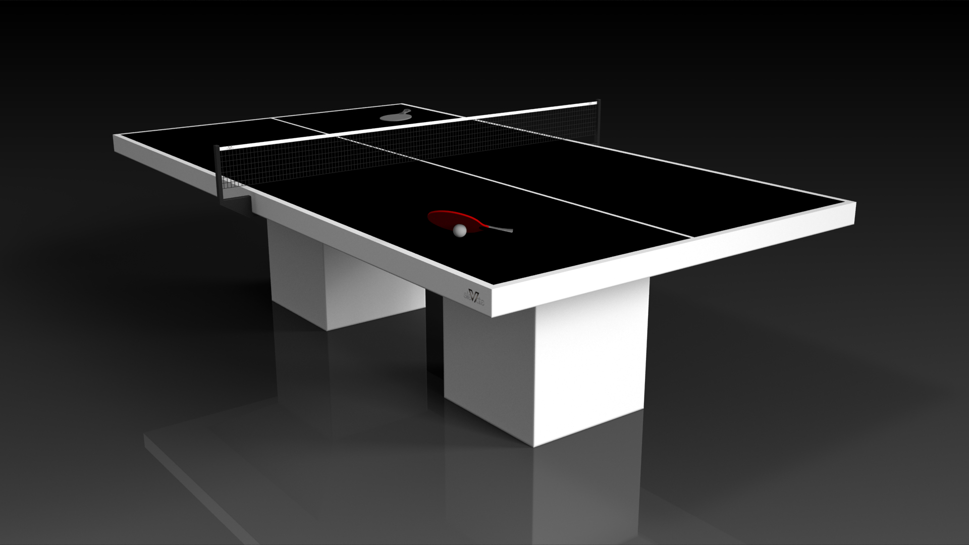 Trestle White Table Tennis