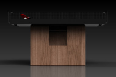 Elevate Customs modern design rumba Ping Pong Table tennis walnut 1