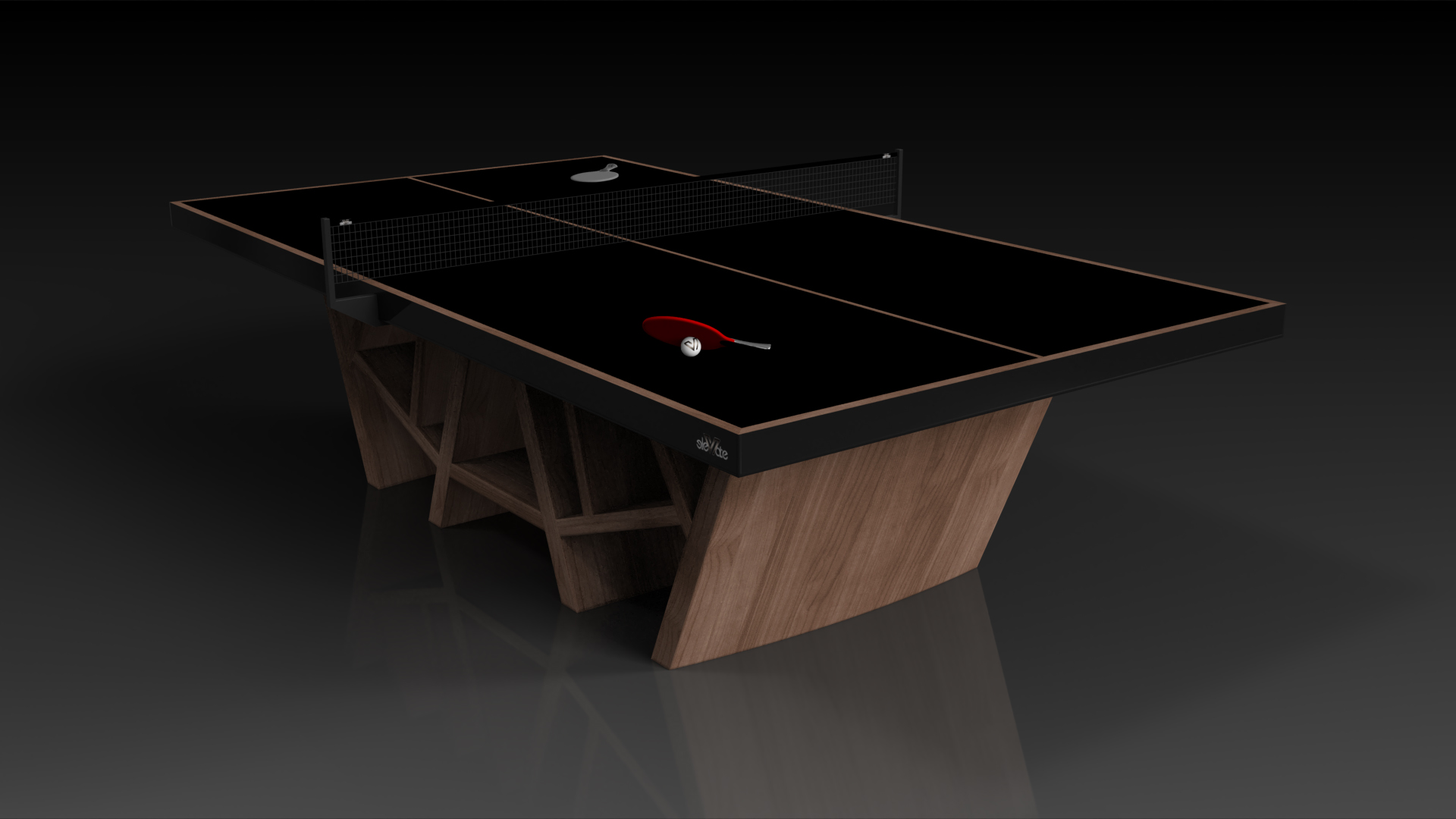 Maze Table Tennis Walnut