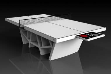 Maze Table Tennis White