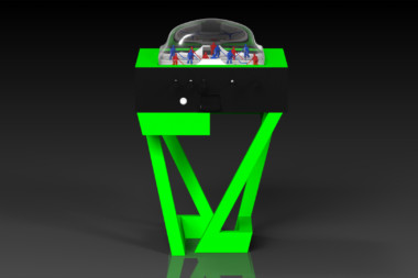 Trinity Neon Green Dome Hockey