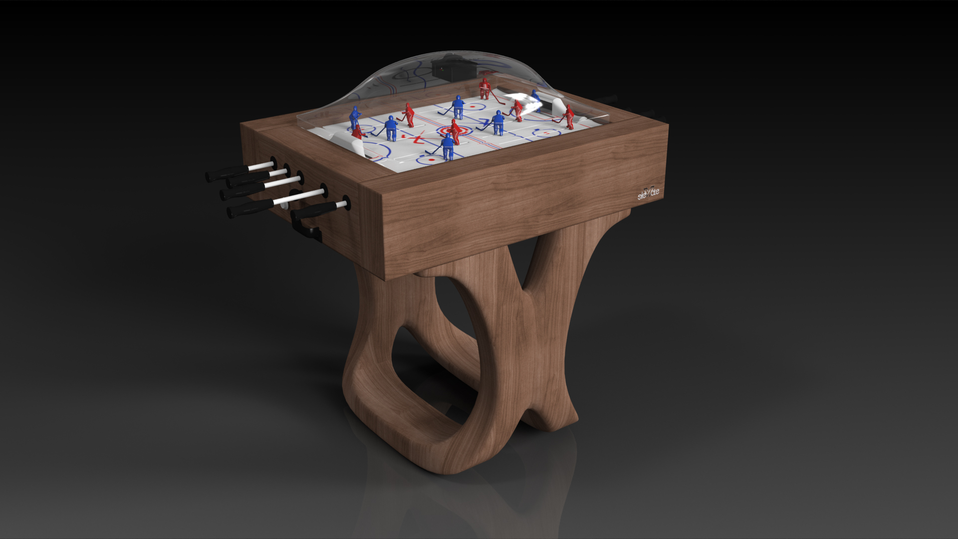 Draco Walnut Dome Hockey