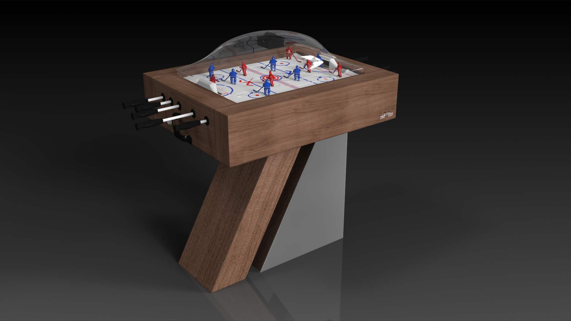 Stilt Walnut Dome Hockey