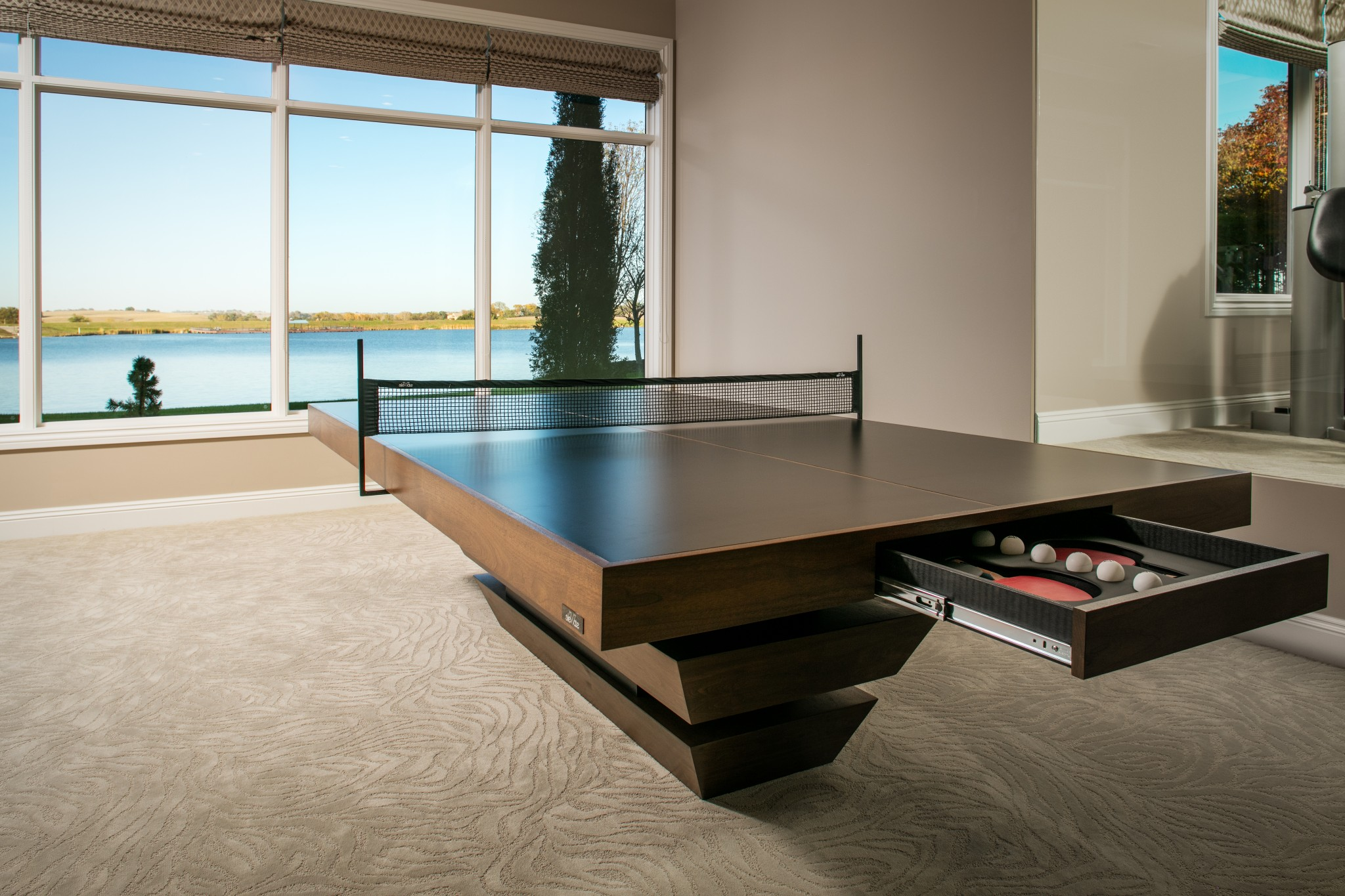 Luxury Ping Pong Table Made In Los Angeles Elevate Customs