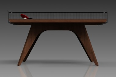 Elements Table Tennis Walnut/Black