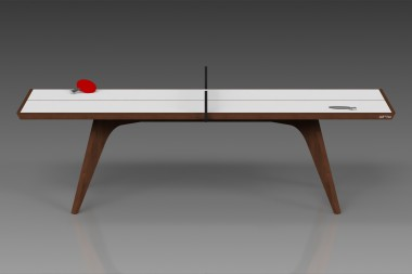 Elements Table Tennis Walnut/White