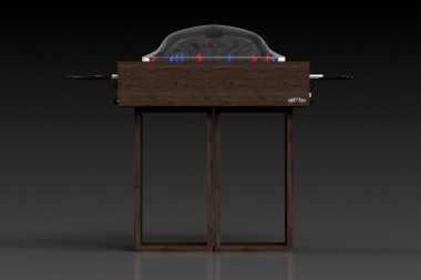 Ambrosia Bubble Hockey in Walnut