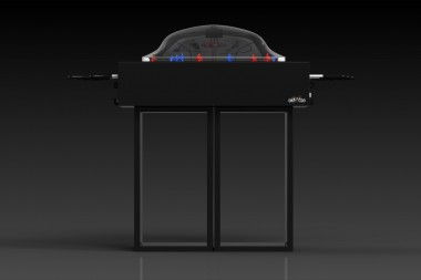 Ambrosia Bubble Hockey in Black