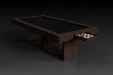 Ambrosia Pool Table in Walnut