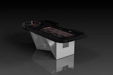 Rumba Brushed Aluminum Roulette